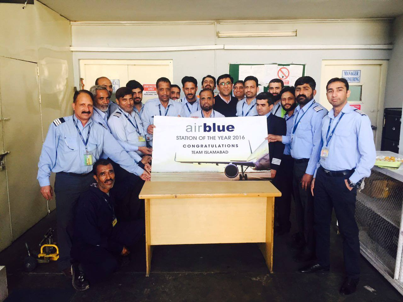 This Year Airblue Announced Engineering S Best Performance Awards 2016 To Abad Station The High Achievers Of All Stations