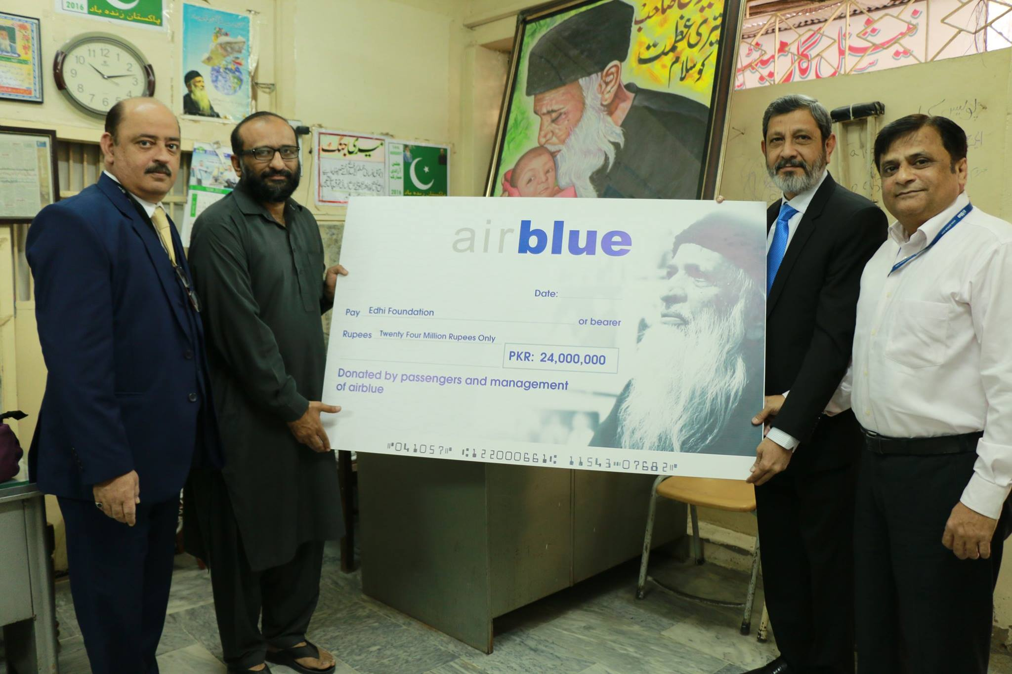Airblue Would Like To Thank Its Pengers For The Trust Bestowed On And Support Cause